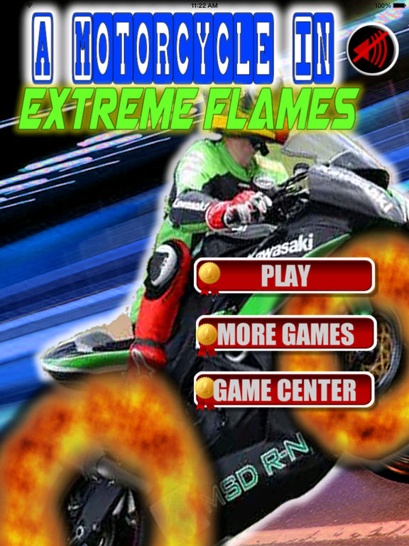 A Motorcycle In Extreme Flames - Fast Game screenshot 6