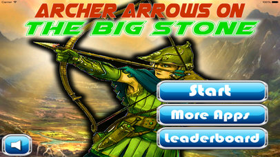 Archer Arrows On The Big Stone PRO - Arrows Game screenshot 1