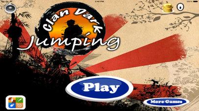 Clan Dark Jumping Pro - Samurai Adventure Game screenshot 1