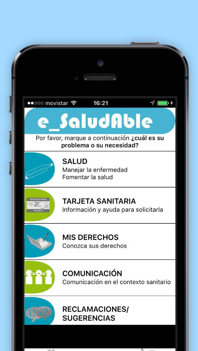 e_SaludAble screenshot 1