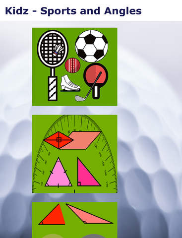 Kidz Learn Sports and Angles screenshot 6