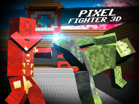 Pixel Fighter 3D screenshot 4