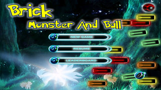 Brick Monster And Ball - Classic Awesome Breaker Go Go Go screenshot 1