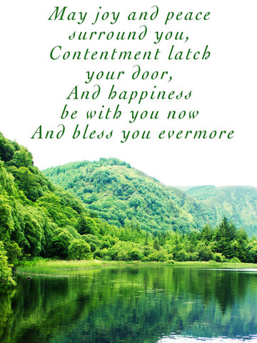 Irish Blessings and Greetings - Image Sayings, Wallpapers & Picture Quotes screenshot 8