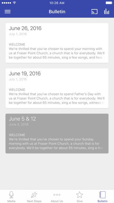 Fraser Point Church screenshot 3