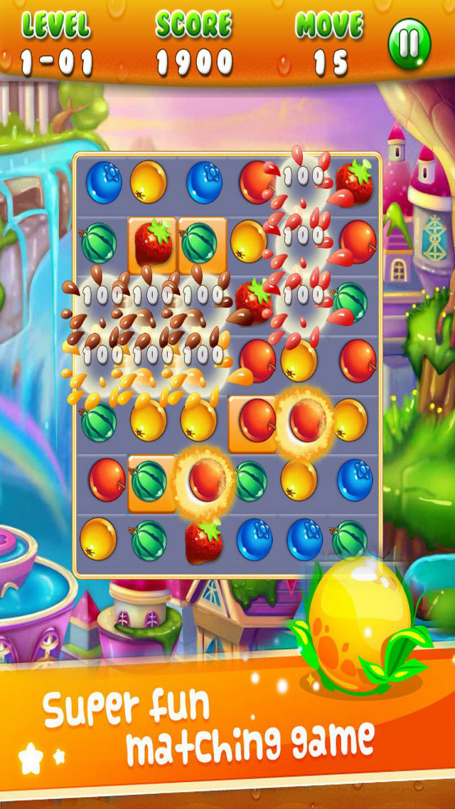 Jelly Fruit: Jam Match Link screenshot 3