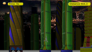 Metal Man Rope - Jump and Fly to Save the City Streets screenshot 3