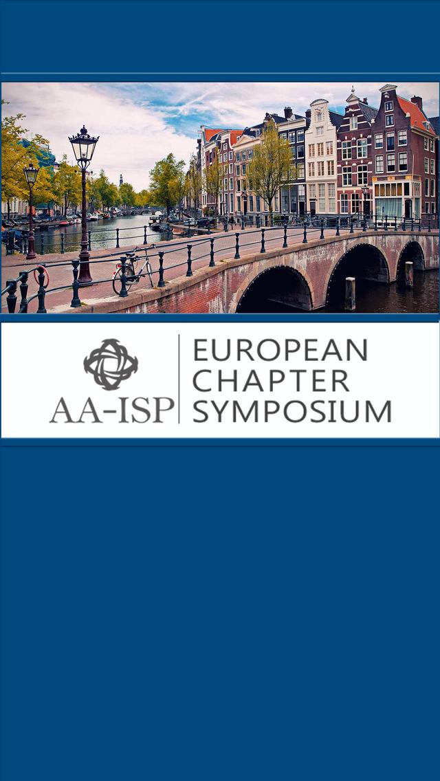 AA-ISP European Symposium screenshot 2