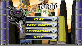 Rope Ninja Madness - Chase Jump Swing screenshot 1