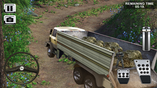 Army Cargo Truck Parking screenshot 1