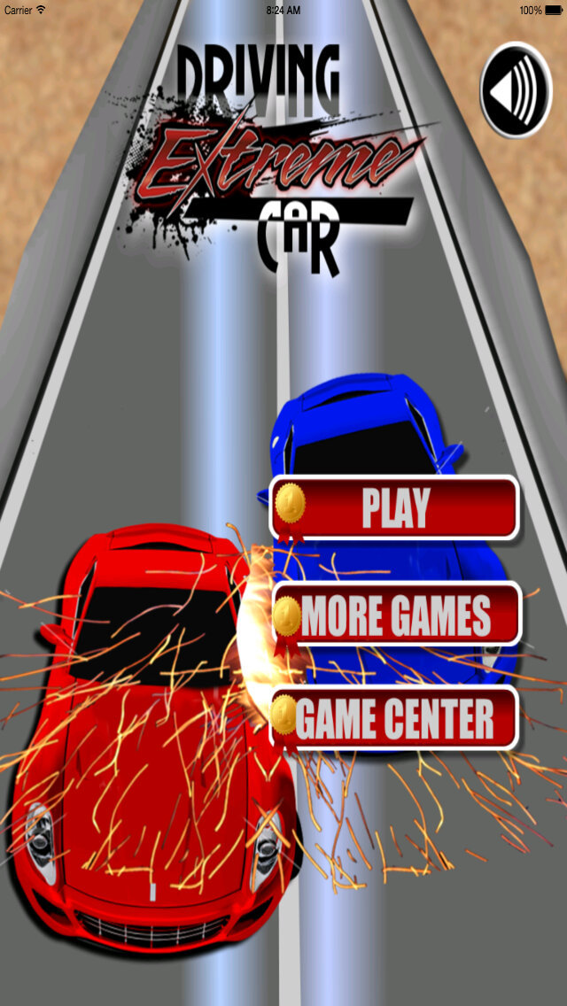 Driving Extreme Car - Racing in Zone Car screenshot 1