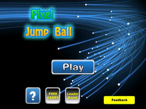 A Pixel Jump Ball Pro - Temple Of Mega Dash Endles Zone screenshot 6