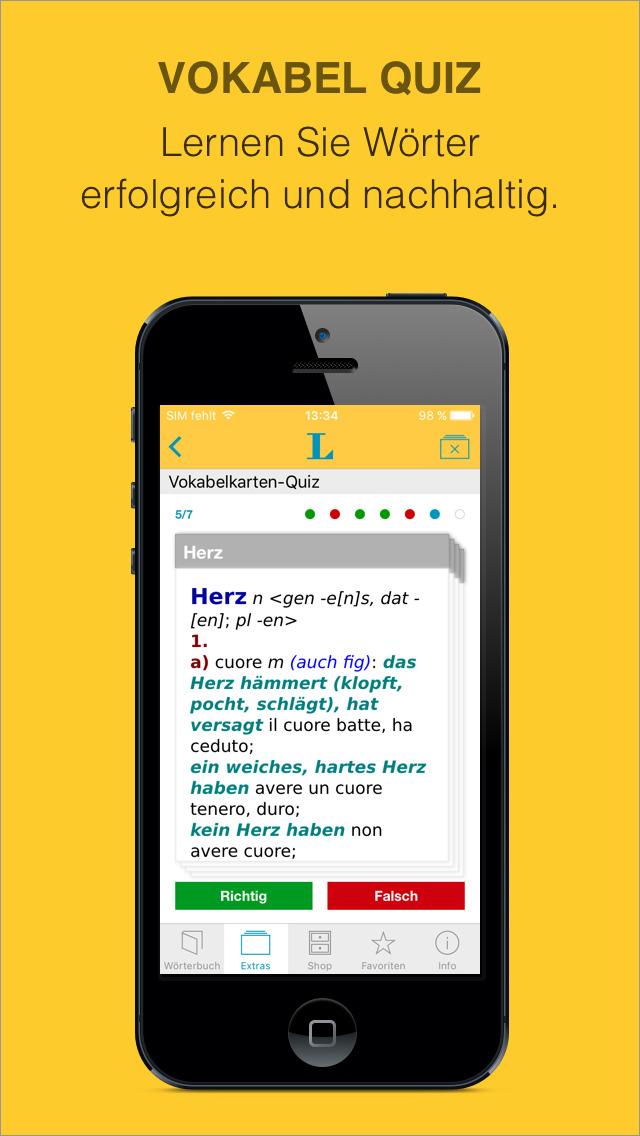 Italian German Dictionary screenshot 5