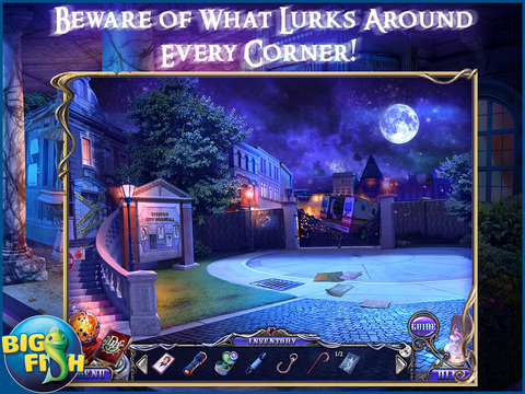 Dark Dimensions: Shadow Pirouette HD - A Scary Hidden Object Game (Full) screenshot 1