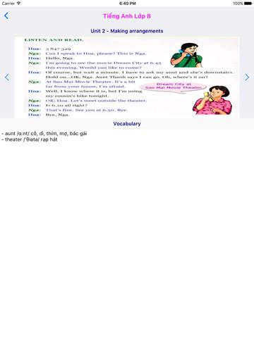 Tieng Anh Lop 8 - English 8 screenshot 7