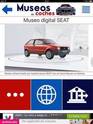 Museos de coches screenshot 7
