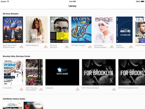 Flipbook Viewer - náhled
