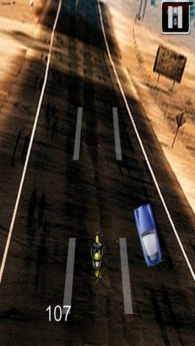 A Fury Motocross - Traffic Game Bike Racing screenshot 3