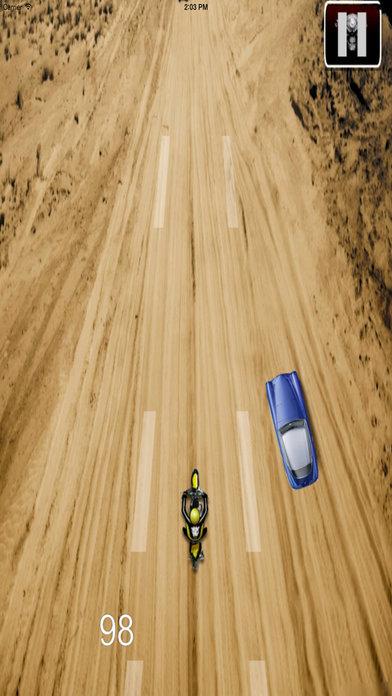 Amazing Desert Motocross - Baron Bike Racing screenshot 2