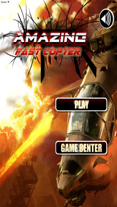 Amazing Fast Copter - Best Helicopter Game screenshot 1