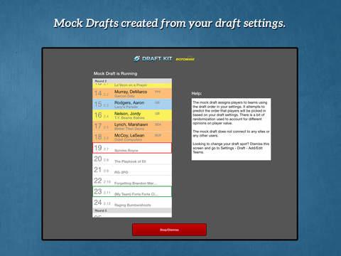 RotoWire Fantasy Football Draft Kit 2016 screenshot 7