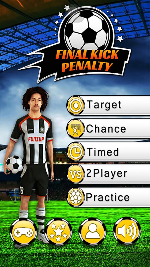 Ultimate Football: Penalty Kicks Free screenshot 1