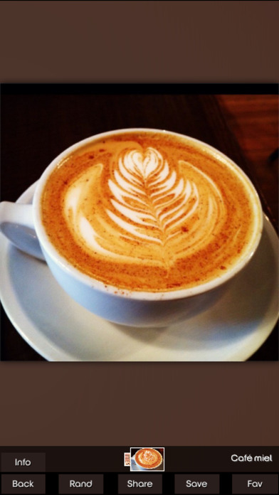 List of Coffee Drinks screenshot 1
