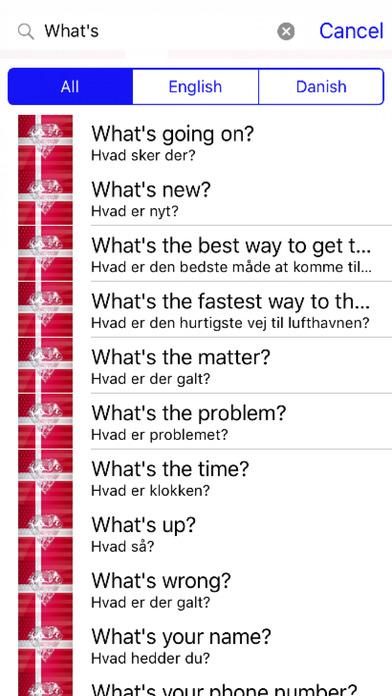Danish Phrases Diamond 4K Edition screenshot 2
