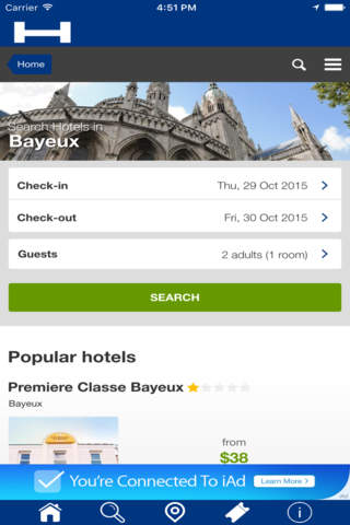 Bayeux Hotels + Compare and Booking Hotel for Toni - náhled