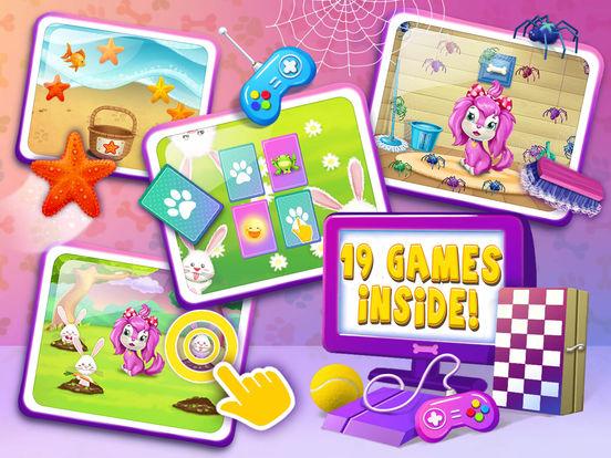 Pink Dog Mimi - My Virtual Pet Puppy Care & Games screenshot 8