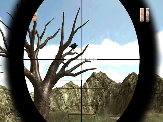 Forest Crow Hunting : 3D Birds Sniper Kill Shot screenshot 8