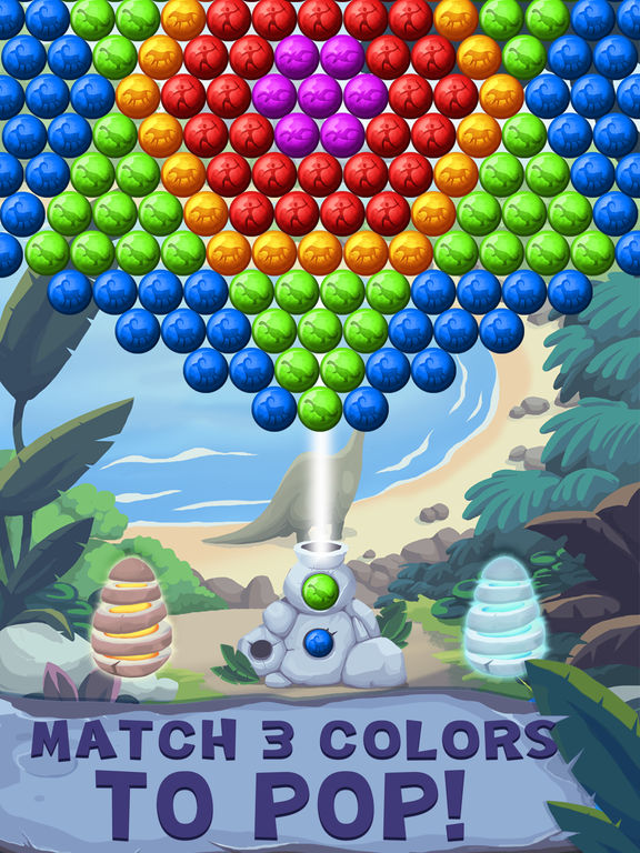 Jurassic Bubble Shooter screenshot 10