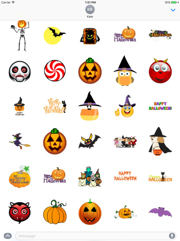 Best Halloween Stickers+ screenshot 3