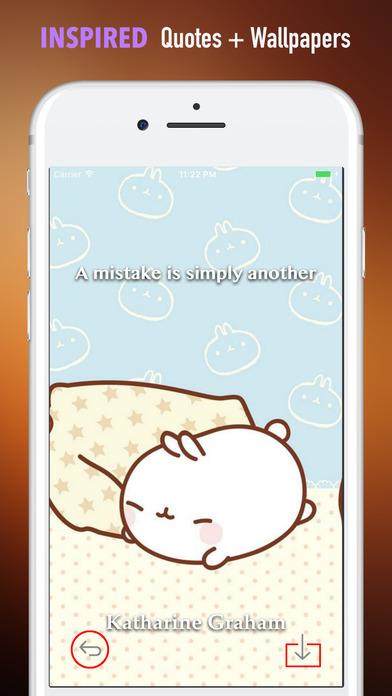 HD Wallpapers for Molang-Art pictures screenshot 5