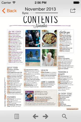 Sainsbury's Magazine - náhled