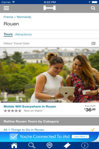 Rouen Hotels + Compare and Booking Hotel for Tonig - náhled