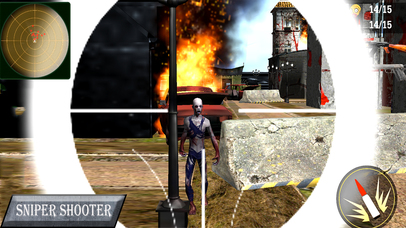 Evil Shooter : Killing The Zombies screenshot 2