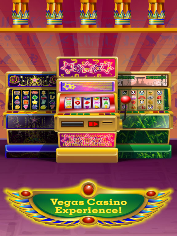 Triple Pharaoh's Way Slot Machine Pro Edition screenshot 8