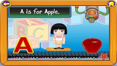Kids Alphabet Games HD Lite screenshot 4