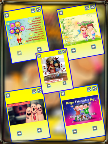 Happy Friendship Day 2016 - Cards, Wishes & Greetings screenshot 4