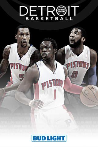 Detroit Pistons Official Mobile App - náhled