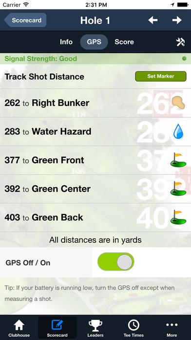 City of Houston Golf Courses screenshot 4