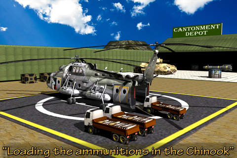 Army Helicopter - Arms Supply - náhled