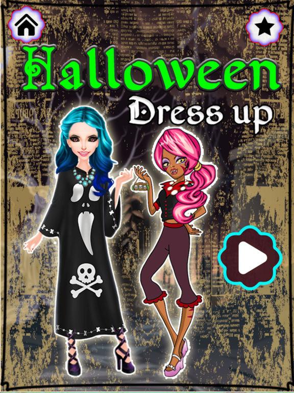 Halloween Monster Girl DressUp screenshot 5