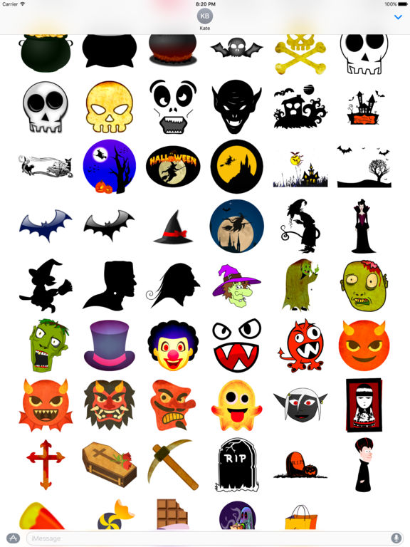 Happy Halloween • Stickers screenshot 8