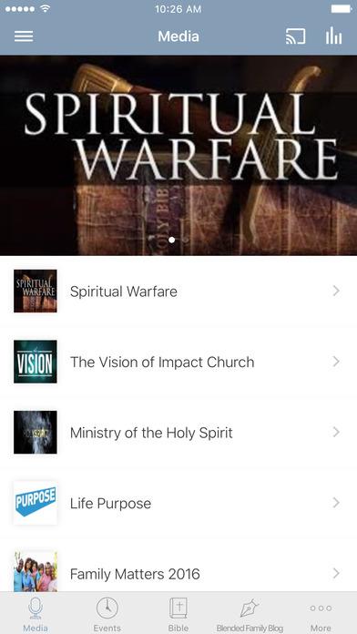 Impact Church Houston screenshot 1