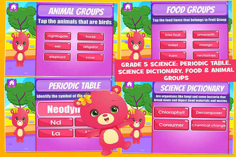 Bears Fifth Grade Educational Games School Edition - náhled