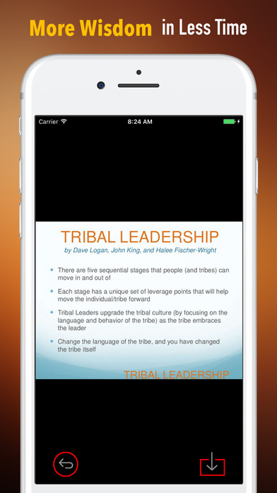 Quick Wisdom from Tribal Leadership-Natural Groups screenshot 1