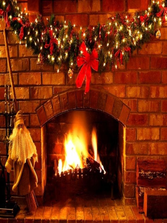 3D Christmas Real Fire & Logs screenshot 2