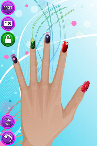Nail Salon - Dressup Kids Games & Makeup Girl Game - náhled